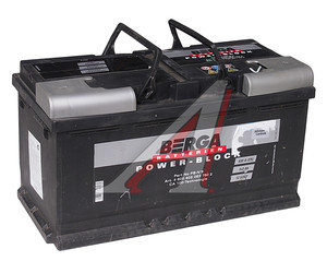 Аккумулятор BERGA Power Block 100А/ч обратная полярность 6СТ100 PB-№5, 600 402 083 7502