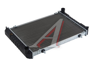 Радиатор ГАЗ-3302 алюминиевый 2-х рядный Н/О HERZOG 3302-1301010, HG2 1010, ЛР3302.1301010