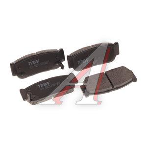 Колодки тормозные SSANGYONG Rodius (05-) задние (4шт.) TRW GDB3413, 48413-21B10