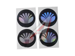 """Эмблема диска колесного """"DAEWOO"""" (6см) комплект 4шт. 02154"""
