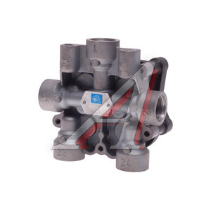 Клапан MAN MERCEDES защитный 4-х контурный WABCO-версия (1хМ22х1.5мм 4хМ22х1.5мм) DIESEL TECHNIC 372084, AE4609/II37460/9347144000, 81521516098