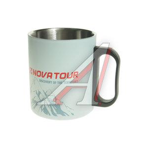 Термокружка 350мл нержавеющая сталь серая NOVA TOUR 95810-974-00, 4603892178657