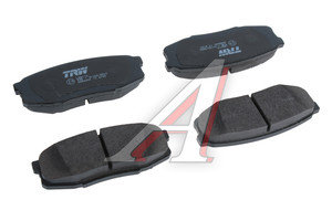 Колодки тормозные TOYOTA Land Cruiser 200 LEXUS LX450,570 (07-) задние (4шт.) TRW GDB3491, 04466-60120/04466-0C010