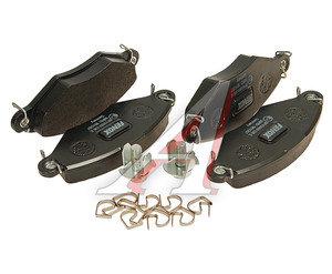 Колодки тормозные PEUGEOT 206 (98-),306 (94-02) передние (4шт.) FENOX BP43059, GDB1361, 4253.20