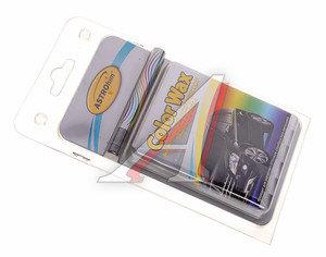 Карандаш восковой черный металлик (3 салфетки в комплекте) 6г Color Wax АСТРОХИМ ASTROhim ACT-0276, ACT-0276