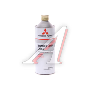 Жидкость тормозная DOT-4 0.5л MITSUBISHI OE MZ320393, MITSUBISHI DOT-4