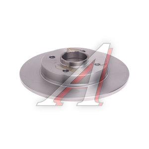Диск тормозной PEUGEOT 308 CITROEN C4,DS4 задний (без подшипника) (1шт.) BOSCH 0 986 479 388, DF6042BS, 4249.66