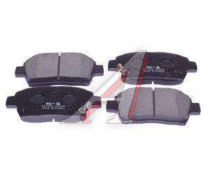 Колодки тормозные TOYOTA Celica (ZZT23) передние (4шт.) SANGSIN SP1244, GDB7075S, 04465-47030