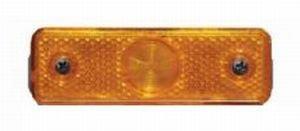 Фонарь габаритный желтый (светодиод, 24V) АВТОТОРГ 0654L