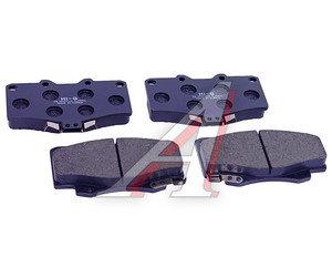 Колодки тормозные TOYOTA Land Cruiser (J80,J90),4Runner,Hilux передние (4шт.) SANGSIN SP1222, GDB797/GDB3213, 04465-35280/04491-60080