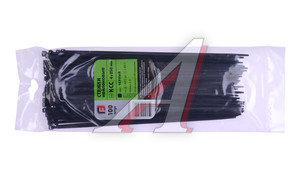 Хомут-стяжка 250х4.0 пластик черный (100шт.) FORTISFLEX 1004250-1, 49412
