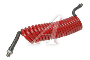 Шланг пневматический витой М16 L=7.5м (красный) AIR FLEX М16 L=7.5м (красный), HH-064-М16-7,5M-PA red