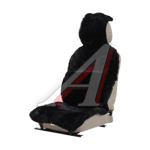 Накидка на сиденье мех натуральный (австралийская овчина) черная 1шт. Jolly Luх PSV 121864, 121864 PSV