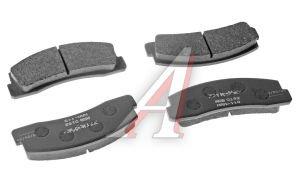 Колодки тормозные ВАЗ-2121,2123 передние (4шт.) ALLIED NIPPON ADB0192, 2121-3501090