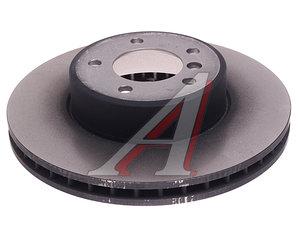 Диск тормозной BMW 5 (E60) передний (1шт.) TRW DF4361, 34116753221/34116767269
