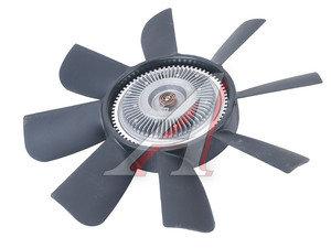 Вентилятор УАЗ-3163 (черный пластик) в сборе с гидромуфтой BORG WARNER 3160-1308008, 3160-00-1308008-00