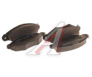Колодки тормозные RENAULT Kangoo (97-09) передние (4шт.) HSB HP9550, GDB1402, 7701208142