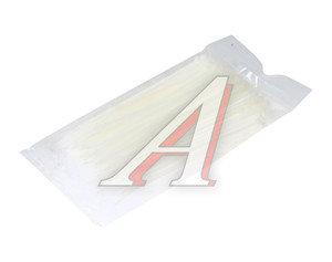 Хомут-стяжка 150х3.0 пластик белый (100шт.) CT-150х3.0