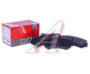 Колодки тормозные MITSUBISHI Colt передние (4шт.) TRW GDB1584