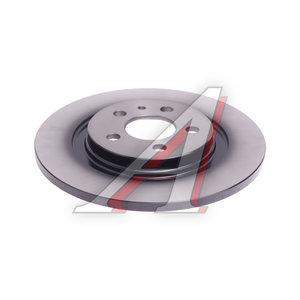 Диск тормозной PEUGEOT 807 (02-10) CITROEN C8 (02-) задний (1шт.) TRW DF4256, 4249.C0