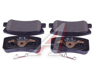 Колодки тормозные MITSUBISHI Pajero 3 задние (4шт.) SANGSIN SP2076, GDB3247