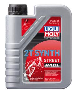 Масло моторное для 2-х тактных двигателей RACING SYNTH 2T синт.1л LIQUI MOLY LM 3980, 84214,