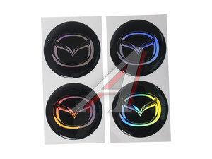 "Эмблема диска колесного ""MAZDA"" (6см) комплект 4шт. 02567"