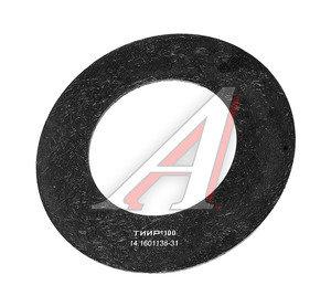 Накладка диска сцепления КАМАЗ эллипсонав.б/а Dнар.=350мм;dвн.=220мм;hтолщ.=4.5мм ТИИР 14.1601138-31, 14.1601138-32, 14-1601138-30