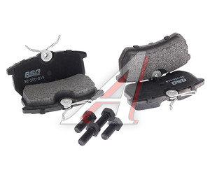 Колодки тормозные FORD Focus 1 (98-05) задние (4шт.) BASBUG BSG30200019, GDB1354, 1075565