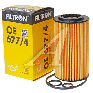 Фильтр масляный MERCEDES C (W204),E (W212),GLK (X204),Sprinter (06-) FILTRON OE677/4, OX153/7D2, A6511800009/6511840025/LR022896