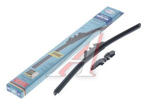 Щетка стеклоочистителя 380мм беcкаркасная (крепление крючок) Super Flat Graphit ALCA AL-045, 045000