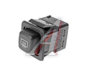 Выключатель кнопка ВАЗ-08-09 обогрева стекла заднего АВАР 375.3710-03.04 12V, 375.3710-03.04М