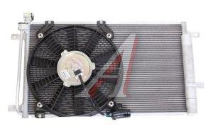 Радиатор кондиционера ВАЗ-1118 в сборе с вентилятором 1118-8112010-10СБ, 111808112010СБ, 11180-8112010-10