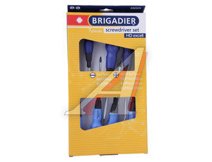 Набор отверток 7 предметов HD EXCELL BRIGADIER 39005