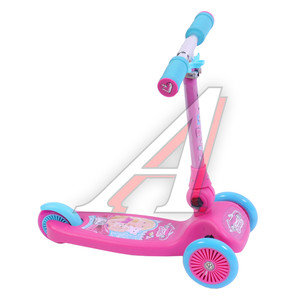 Самокат 3-х колесный детский Barbie 1 TOY T57631