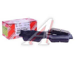 Колодки тормозные TOYOTA Rav 4 (2.0/2.2),Camry V40 (06-) задние (4шт.) OE 04466-33180, GDB3426