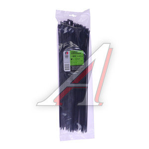 Хомут-стяжка 400х5.0 пластик черный (100шт.) FORTISFLEX 1005400-1, 49790