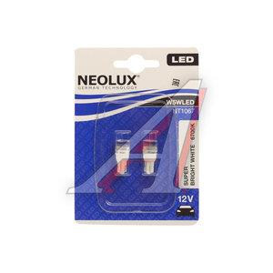 Лампа 12VхW5W (W2.1х9.5d) LED 6700K (блистер) 2шт. NEOLUX N1067-2бл, NL-1067-2бл, А12-5-2