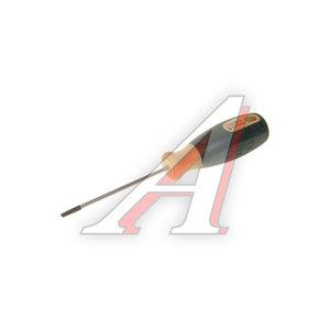 Отвертка шлицевая SL 0.5х3х75мм с противоскользящей ручкой ROCK FORCE RF-71303