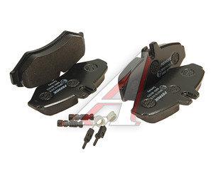 Колодки тормозные MERCEDES W463,Sprinter (97-) VW LT (96-02) задние (4шт.) FENOX BP43110, GDB1399, A 003 420 24 20