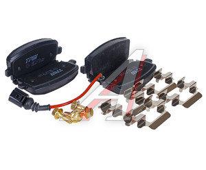 Колодки тормозные VW T5 (03-),Multivan (03-) задние (с датчиком) (4шт.) TRW GDB1557, 7H0698451/7H0698451B