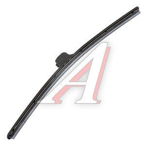 Щетка стеклоочистителя 400мм беcкаркасная (крепление крючок) Super Flat Graphit ALCA AL-046, 046000