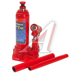 Домкрат бутылочный 2т 181-345мм MEGAPOWER M-90203