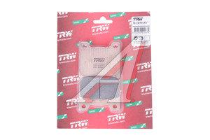 Колодки тормозные мото YAMAHA VMX1200 (93-01) задние (2шт.) TRW MCB530SV