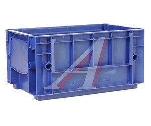 Ящик полимерный многооборотный 297х198х147.5мм синий IPLAST IP-378860,