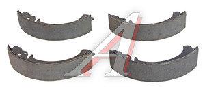 Колодки тормозные ВАЗ-2101 задние (4шт.) AD 2101-3502090