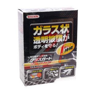 "Полироль WILLSON ""Стеклянная защита"" для темных покрытий 110мл+4.5мл WILLSON WS-01240, WS-01240,"