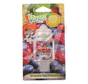 Ароматизатор подвесной мембранный (ягодное настроение) 5г Voyage FOUETTE V-10