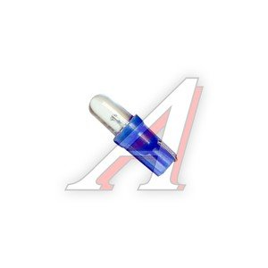 Лампа светодиодная W1.2W 1.2W W2х4.6d 12V Standart Blue MEGAPOWER M-30415B