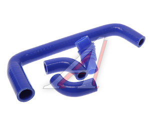 Шланг ГАЗ дв.ЗМЗ-406 РХХ комплект 4шт. синий силикон 4062-1147102-10